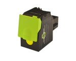 Toner Yellow compatible for Lexmark CS417, CS517, CX417, CX517